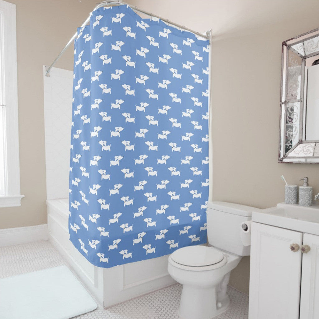 Dachshund Shower Curtain, The Smoothe Store