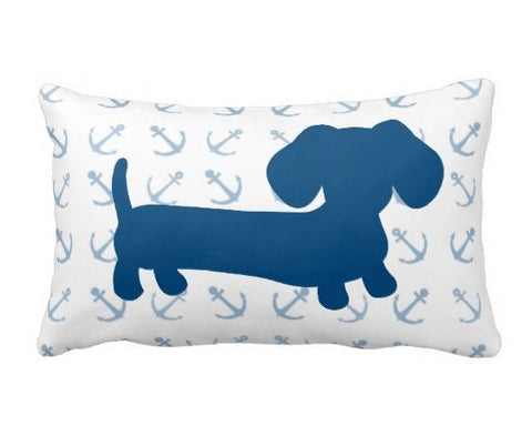 Nautical Dachshund Pillow - The Smoothe Store - 3