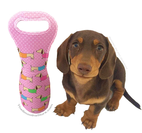 Wiener Dog Wine Gift Tote Bag, The Smoothe Store