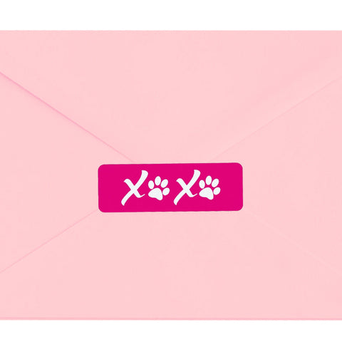 XOXO Puppy Love Envelope Seals, The Smoothe Store