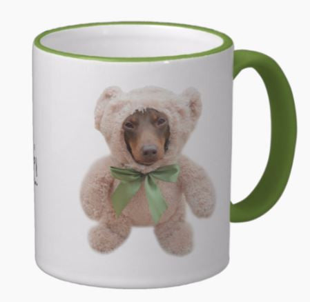DoxieBear Mug, The Smoothe Store