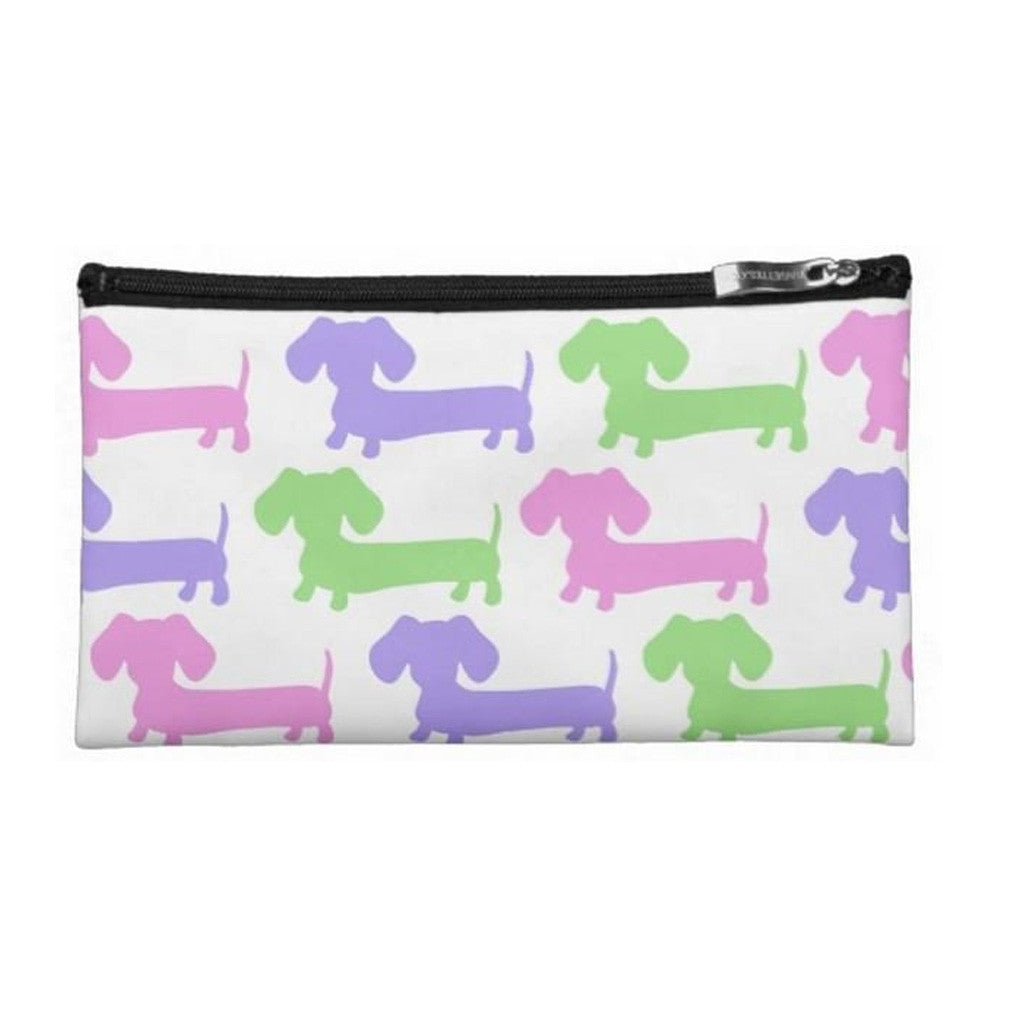Gender Neutral Small Dachshund Diaper Clutch, The Smoothe Store