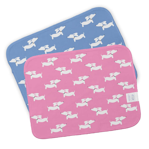 Dachshund Burp Cloth