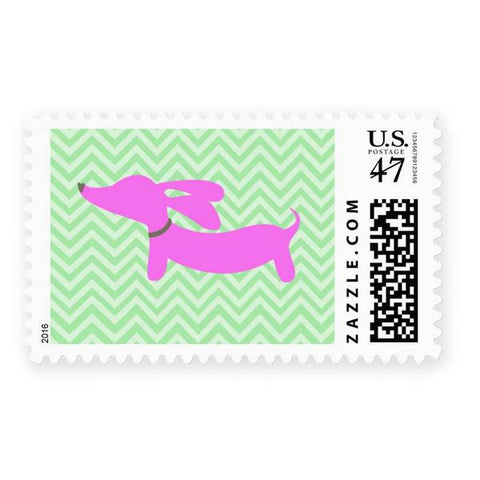 Dachshund Postage Stamps