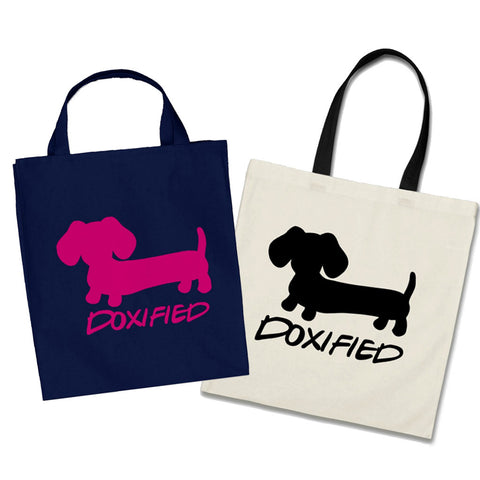 Doxified Wiener Dog Tote Bags, The Smoothe Store