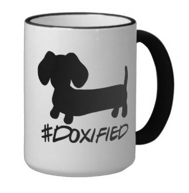 Doxified Dachshund Coffee Mug