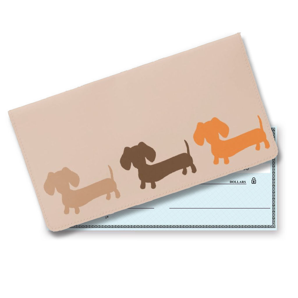 Wiener Dog Checkbook Covers