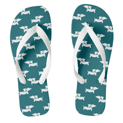 Dachshund Flip Flops Thong Style - The Smoothe Store