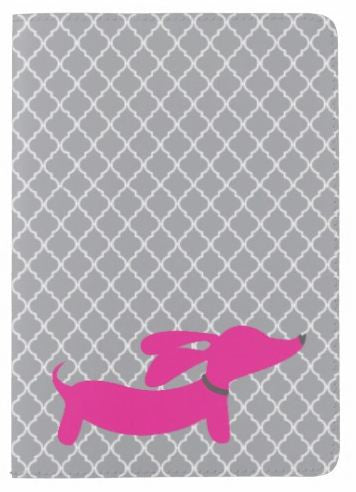 Pink or Yellow Dachshund Passport Cover, The Smoothe Store