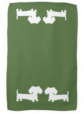 Dachshund Kitchen Dish Towels - The Smoothe Store - 6