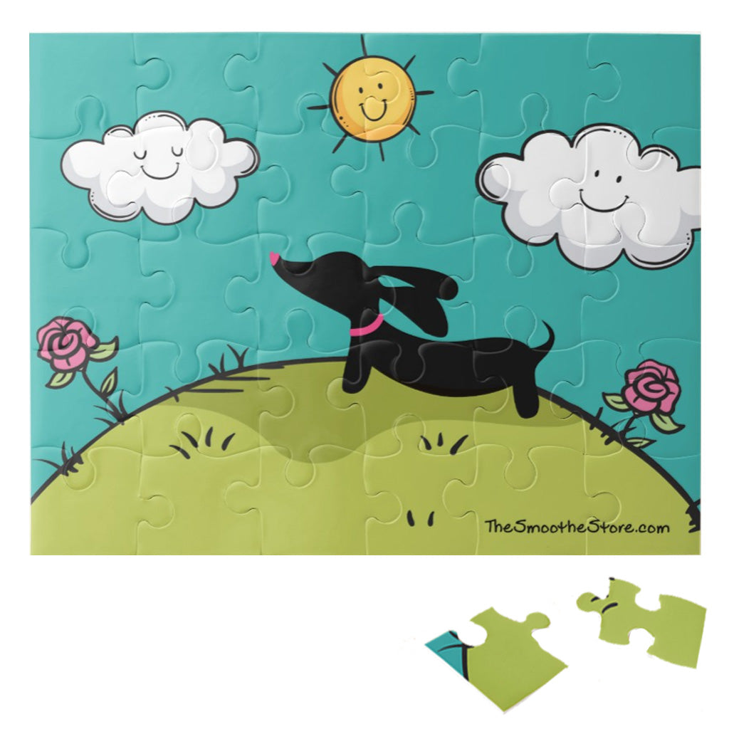 Kids Dachshund 30 Piece Puzzle, The Smoothe Store