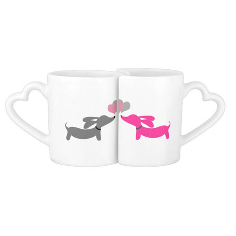 Long on Love Dachshund Mug Set, The Smoothe Store
