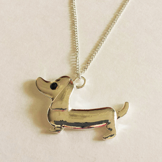 Dachshund Pendant Necklace, The Smoothe Store