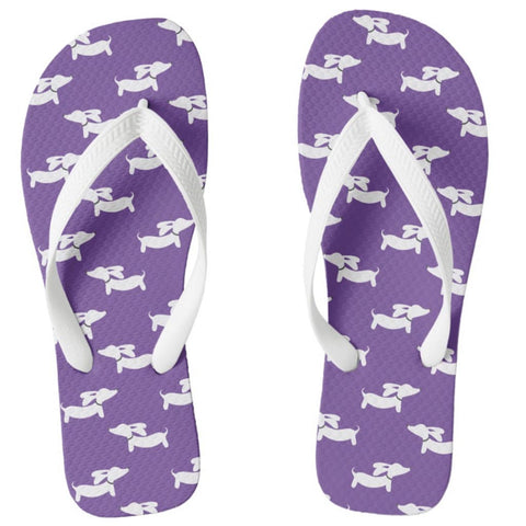 Dachshund Flip Flops Thong Style, The Smoothe Store