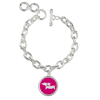 Dachshund Charm Bracelet, The Smoothe Store