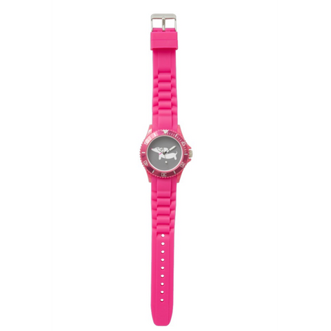 Sporty Pink Dachshund Silicone Band Watch - The Smoothe Store - 2