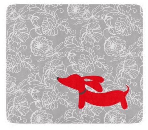 Dachshund Kitchen Cutting Board - Red or Pink