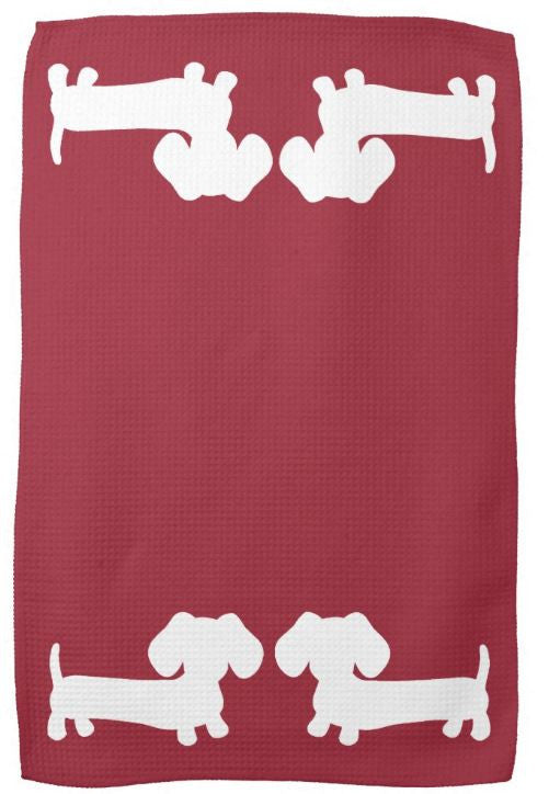 Dachshund Kitchen Dish Towels - The Smoothe Store - 3