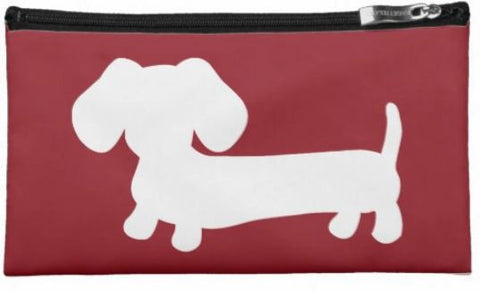 Dachshund Travel and Small Accessory Pouch Bags - The Smoothe Store - 4