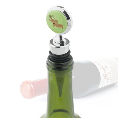 Christmas Dachshund Wine Bottle Stopper - The Smoothe Store - 2