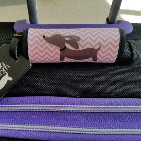 Wiener Dog Luggage Handle Wraps, The Smoothe Store