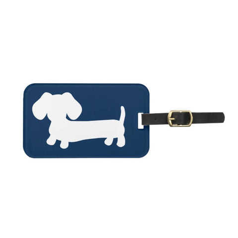 Dachshund Luggage Tags | Lots of Colors, The Smoothe Store