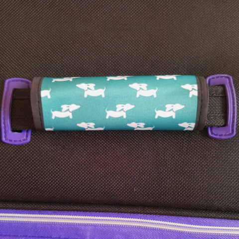 Wiener Dog Luggage Handle Wraps - The Smoothe Store - 2