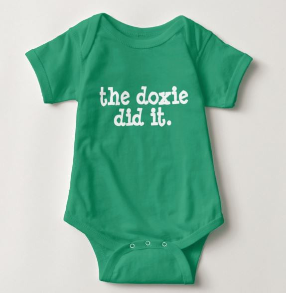 The Doxie Did It | One Piece Baby Onesie, The Smoothe Store