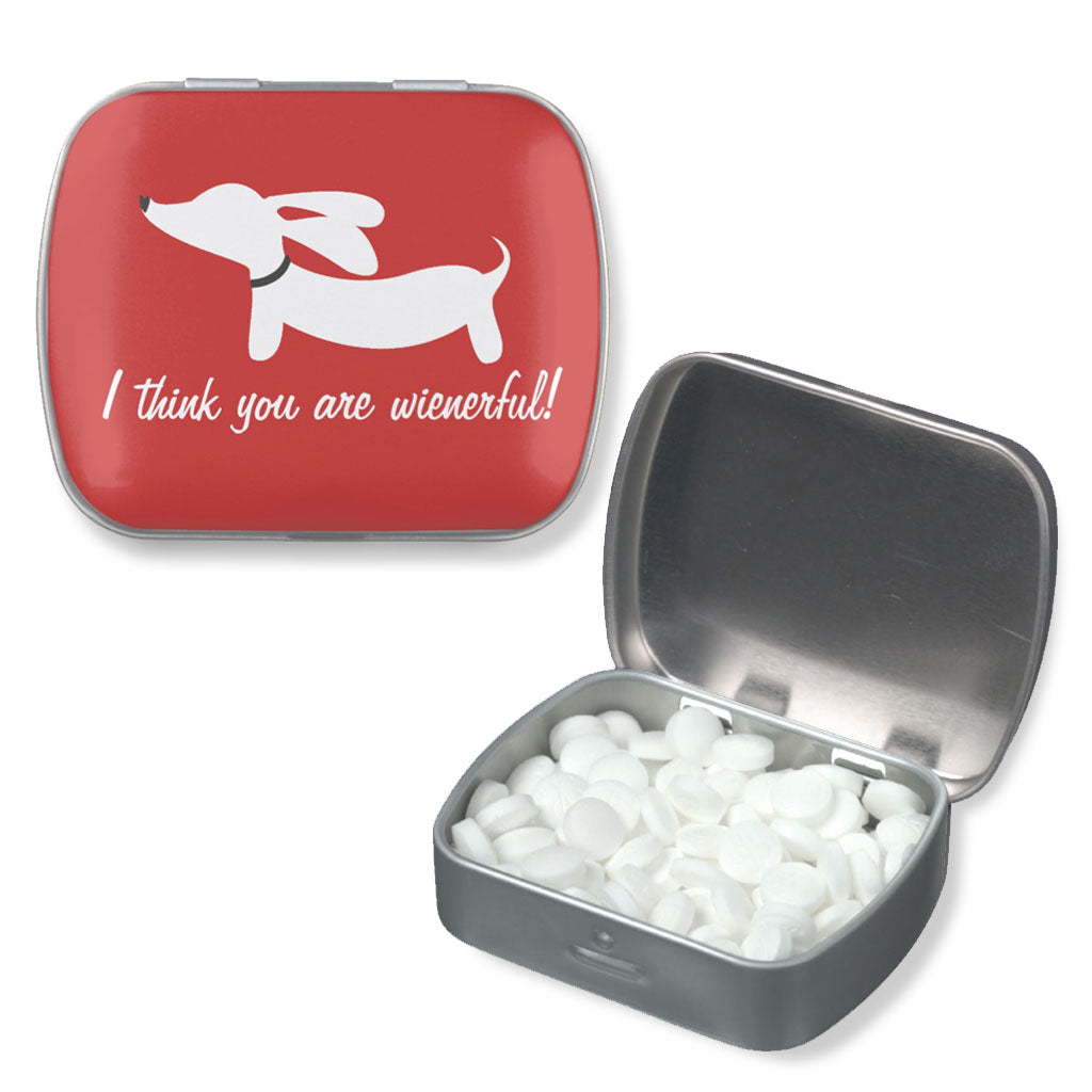 Wienderful Dachshund Pill | Gift Tin, The Smoothe Store