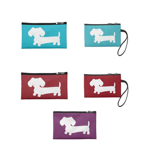 Dachshund Travel and Small Accessory Pouch Bags