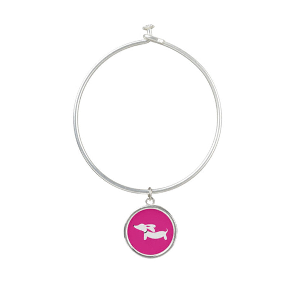 Dachshund Bangle Bracelet, The Smoothe Store
