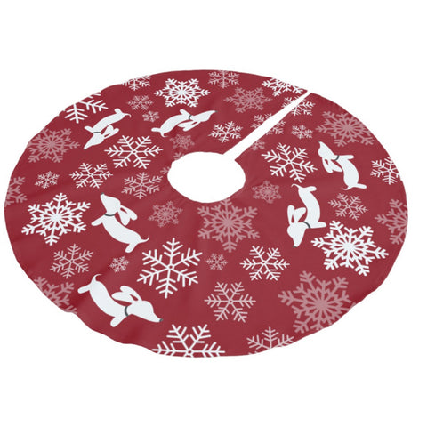 Dachshund Christmas Tree Skirts, The Smoothe Store
