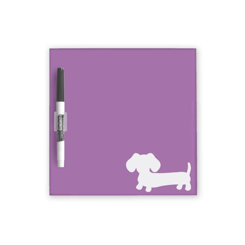 Dachshund Dry Erase Boards - Lots of Color Choices, The Smoothe Store