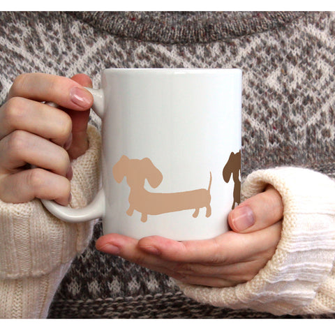 Dachshund Coffee Mugs, The Smoothe Store