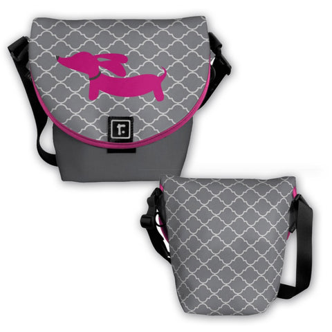 Small Dachshund Messenger Bag - The Smoothe Store - 3