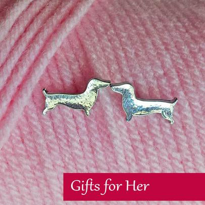 wiener dog jewelry for her