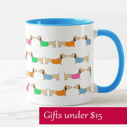 wiener dog gifts for her valentine's day