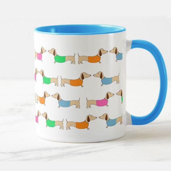 Dachshund Coffee Mug Tea Cup