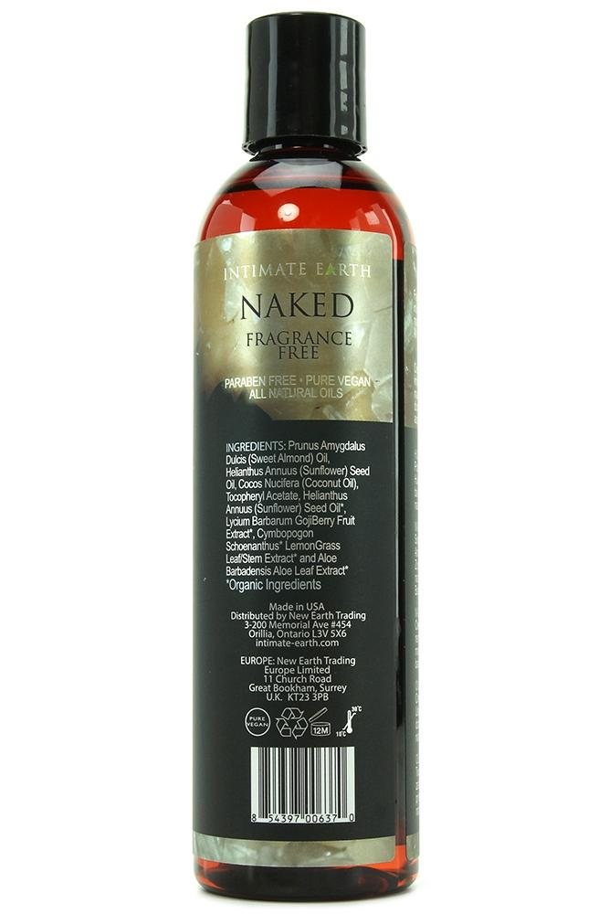 Naked Massage Oil - Desirables Lingerie & Accessories