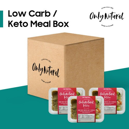 Low Carb / Keto<br>Meal Box