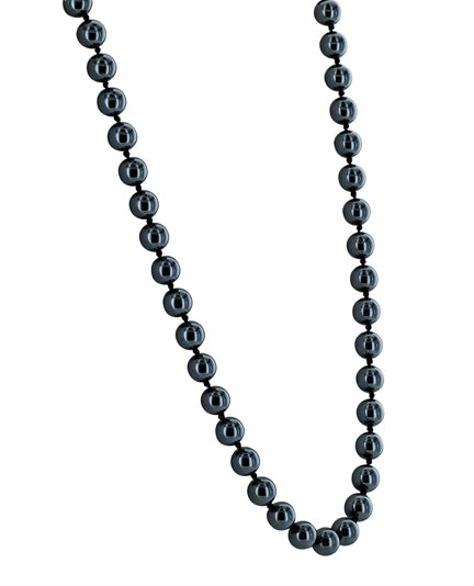 CAPUCINE pyrite beads necklace