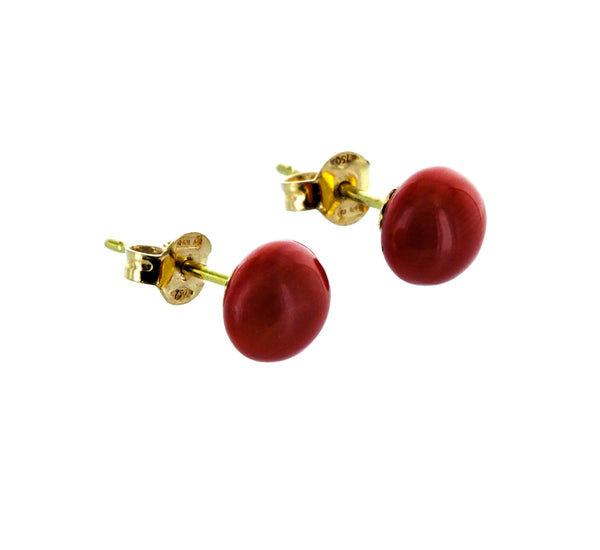 MARIANNE coral earrings