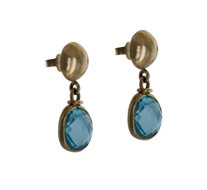 VALENTINE aquamarine earrings