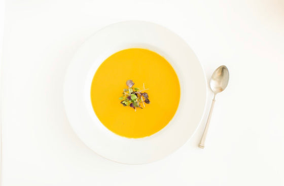 Curry Butternut Squash Soup GF | DF | V