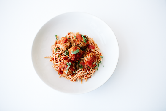Family Pack - Turkey Veggie Meatballs with Spaghetti Marinara GF | DF