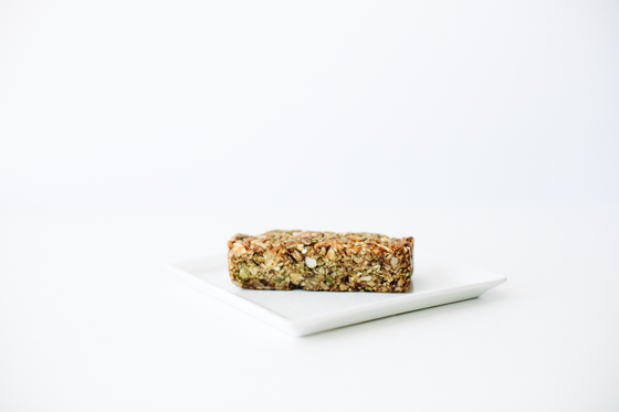 Chewy Honey, Nut and Cherry Breakfast Bar
