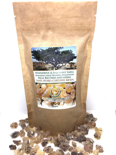 SAAFI Frankincense Wildcrafted Boswellia Carterii Tree Resin (50g)-Frankincense Resin-SAAFI Frankincense