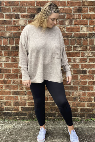 Our On the Move Leggings are a true closet staple! She is a basic black microfiber legging with an elastic waist. She is full length and perfect to wear with boot socks and knee high boots. These leggings are buttery soft providing extra comfort for all day wear. Whether you're going out running errands or getting dressed up for a party these leggings will be an every day go to. She runs true to size.