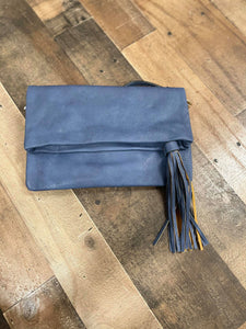 Simple Spring Crossbody Purse- Dark Blue