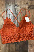 Load image into Gallery viewer, Simplicity is Key Bralette - Rust